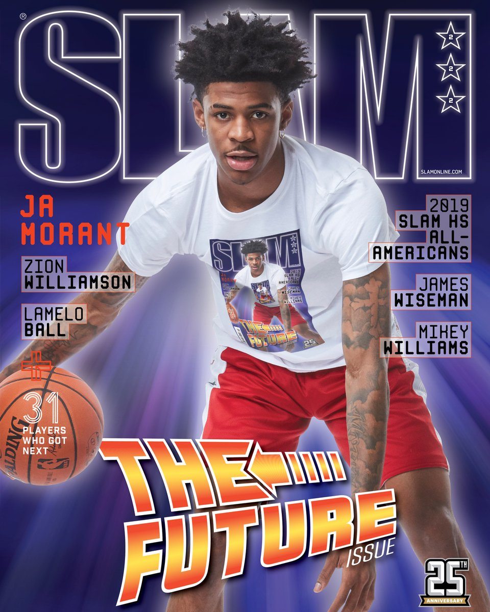 SLAM's photo on Ja Morant