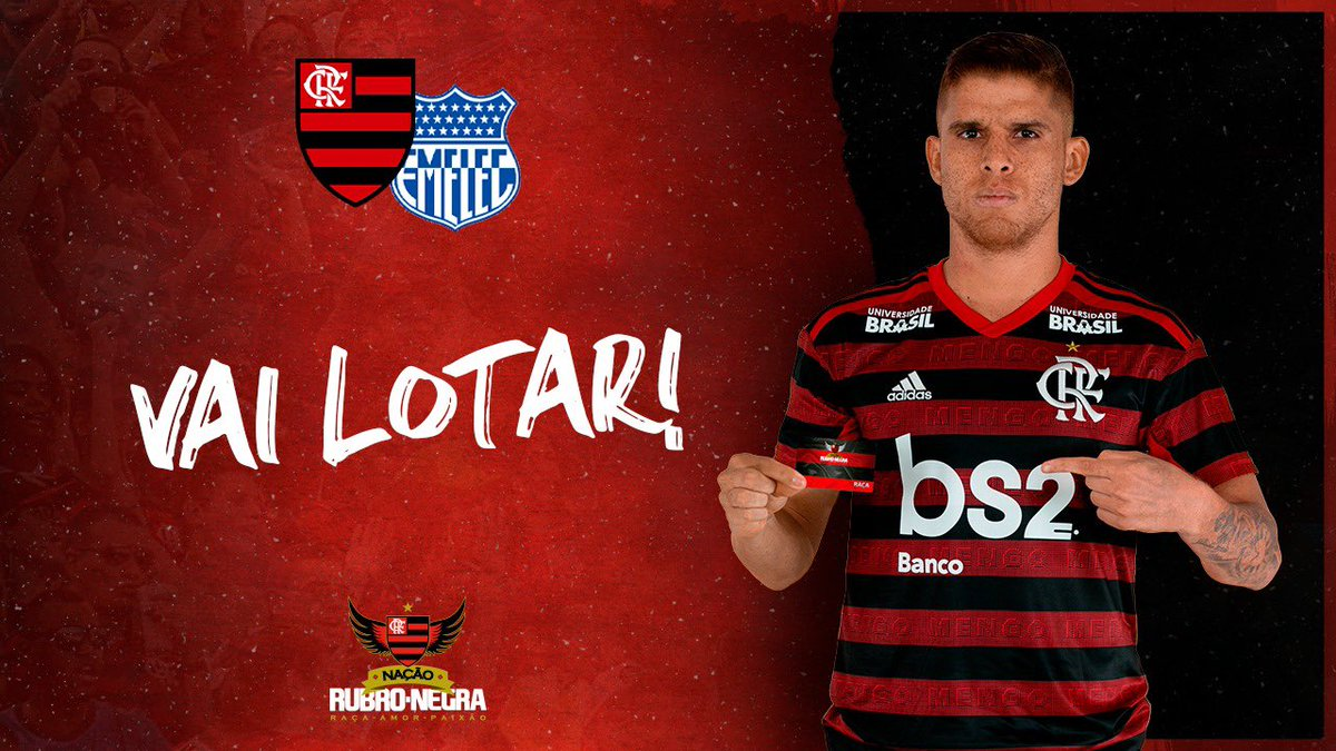 Flamengo's photo on Emelec