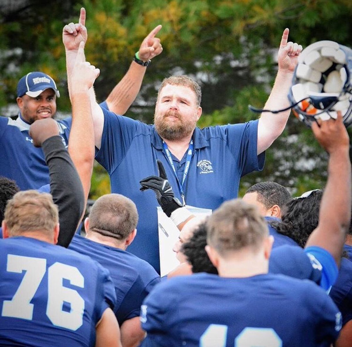 Today marks exactly a year that we lost Coach Drass. His impact and legacy still lives on today throughout the Wesley and Division III community. #Together