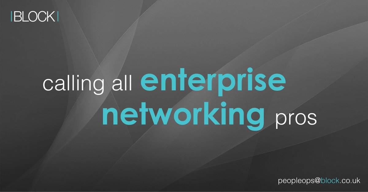 test Twitter Media - Looking to get involved in large, innovative and transformational SD-Access Network projects? Block has opportunities for Enterprise Networking (R&S/Wireless) and Security professionals from Engineer to Architect https://t.co/hHELrEbzIW https://t.co/VQOrRzNr0A