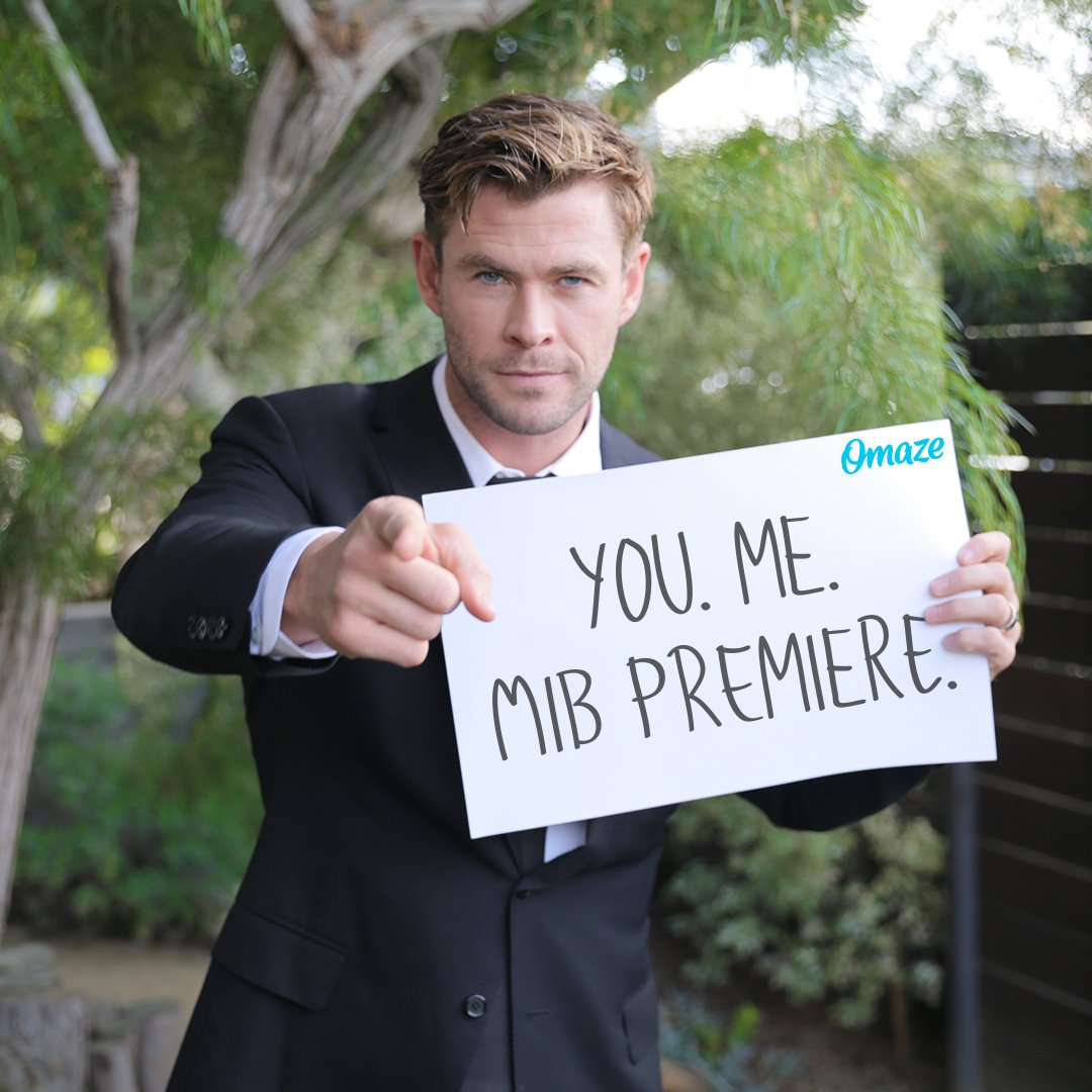 I've got an important mission for you… I need YOU to be my VIP guest at the @MenInBlack: International premiere!  Are you up for it? Support the @AusChildhood Foundation and ENTER: http://bit.ly/2Y9TZTQ