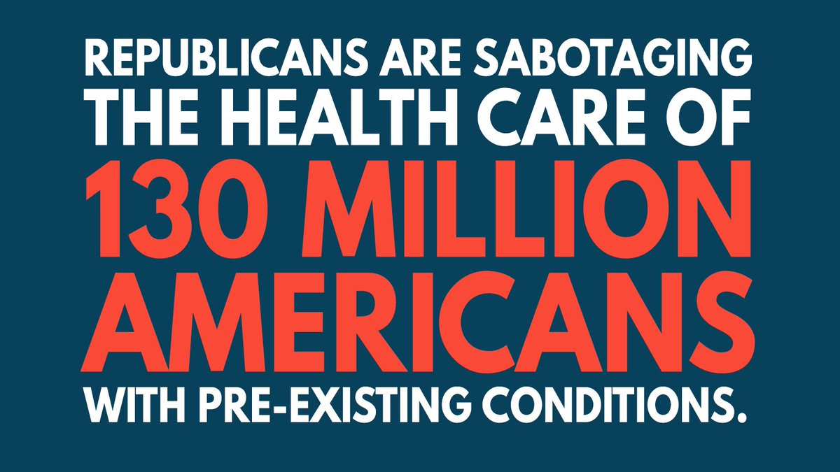 American families should be able to expect their government is working with their best interests in mind. Americans have a right to know why the DOJ is threatening the health care of millions. #ProtectOurCare