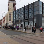 Happy 125th Birthday @TheBplTower!  Blackpool's first luxury, 5-star hotel, Sands Venue Resort Hotel is near this iconic building adding to the streetscene. @FWPGroup #Blackpool #Construction #blackpooltower