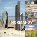 Image for the Tweet beginning: The beautiful Normandy region is