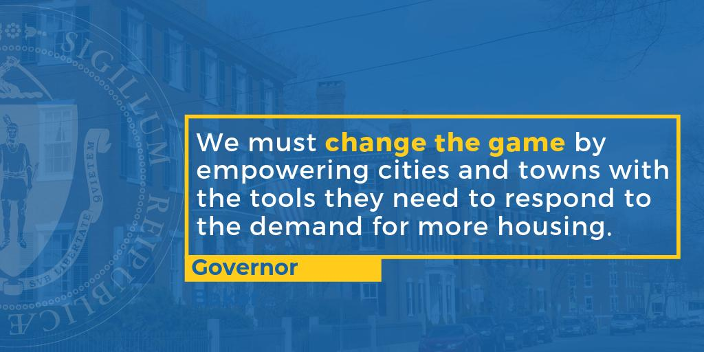 The Commonwealth is in a housing crisis: for the last 30 years, MA has been producing half of the housing that we used to build.   We've supported new growth through #MassWorks & other programs but we still need comprehensive action to address this crisis.  #HousingChoice