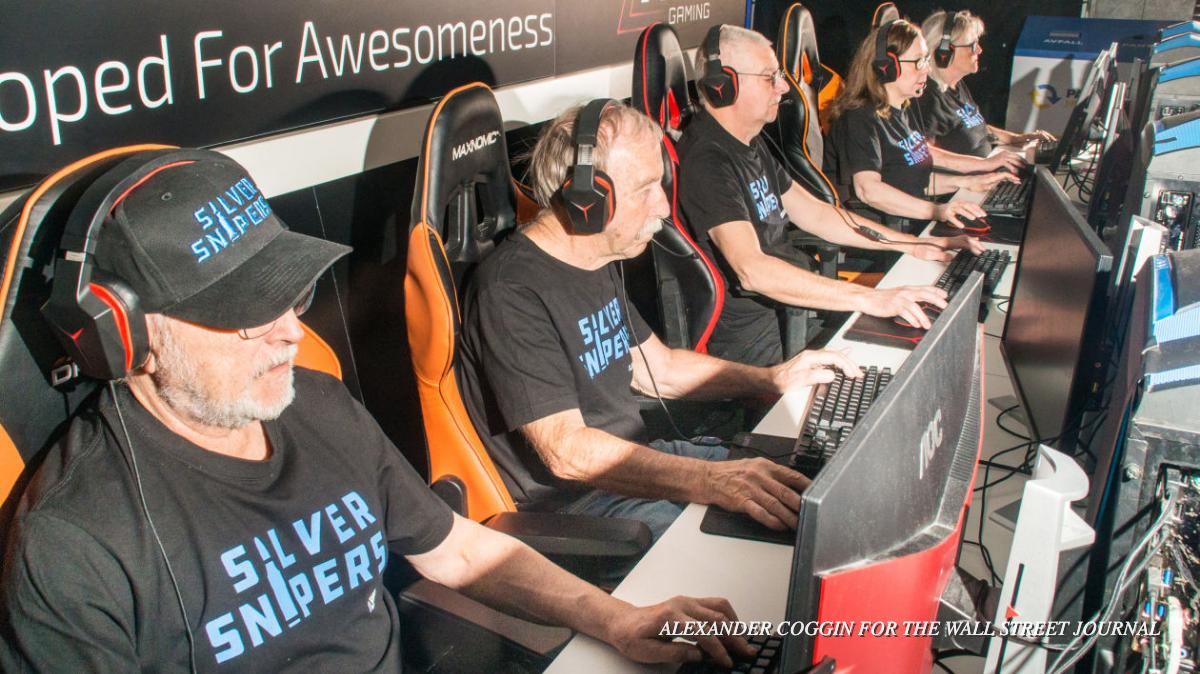These competitive videogamers are out to change the esports industry. Theyre also all over 60. on.wsj.com/2Vzh9pX