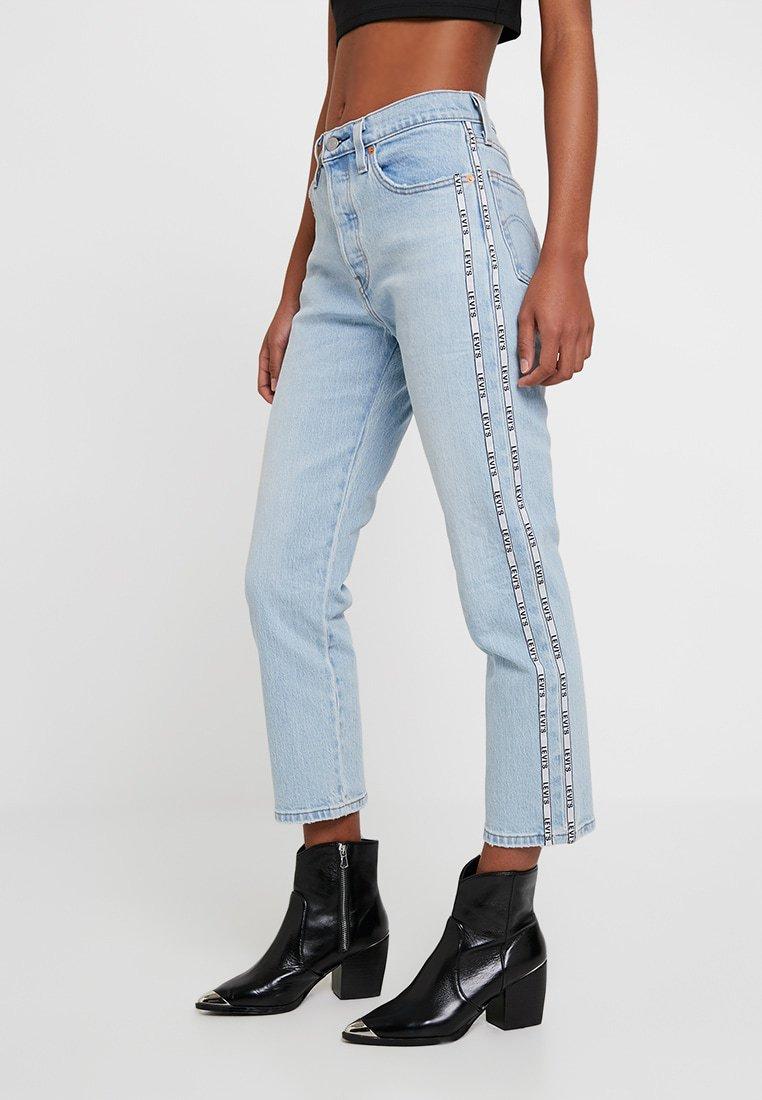1e988ea13db60 Levi's 501 CROP Jean boyfriend light-blue denim pas cher prix Jeans Femme  Zalando 104.95