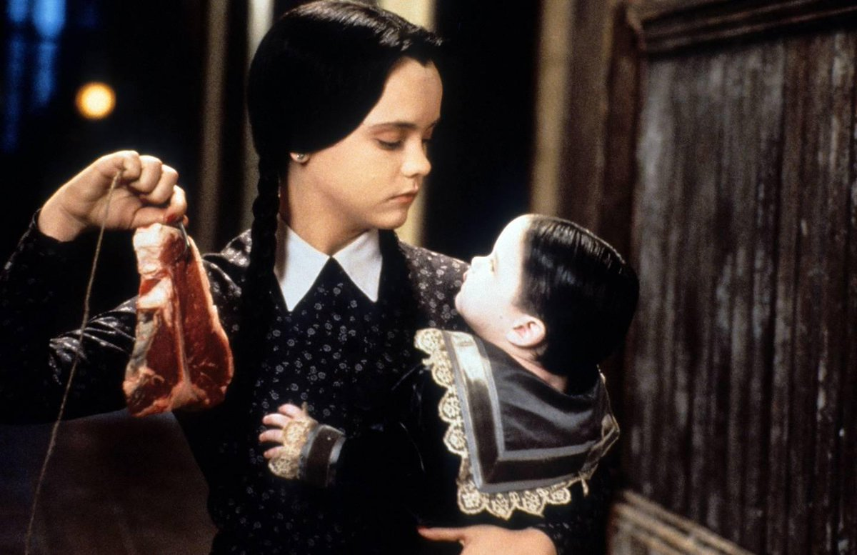 Why #WednesdayAddams is the perfect new-season moody muse: https://www.vogue.co.uk/article/wednesday-addams-autumn-winter-2019-muse …