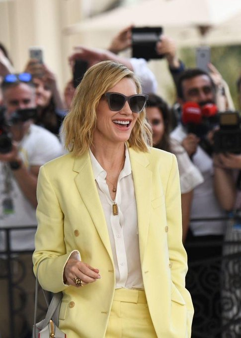 Thank you to everyone who has wished me a happy Cate Blanchett\s 50th birthday, it means so much
