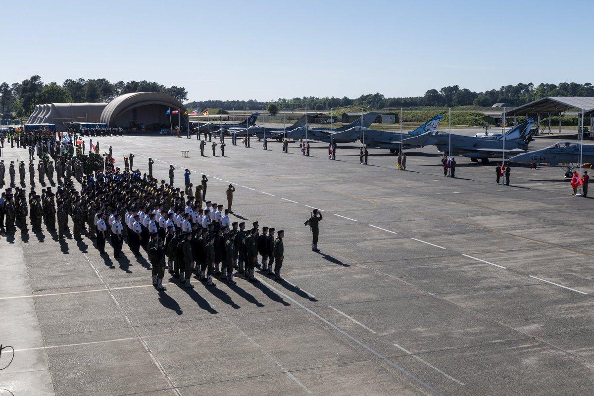 #NTM2019 🐯 Tiger Tiger Tiger 🐯 Exercice aérien de grande ampleur, considéré comme l'un des plus importants rendez-vous tactiques de @NATO, le NATO Tiger Meet 2019 a officiellement été lancé hier, sur la base aérienne 118 de Mont-de-Marsan !