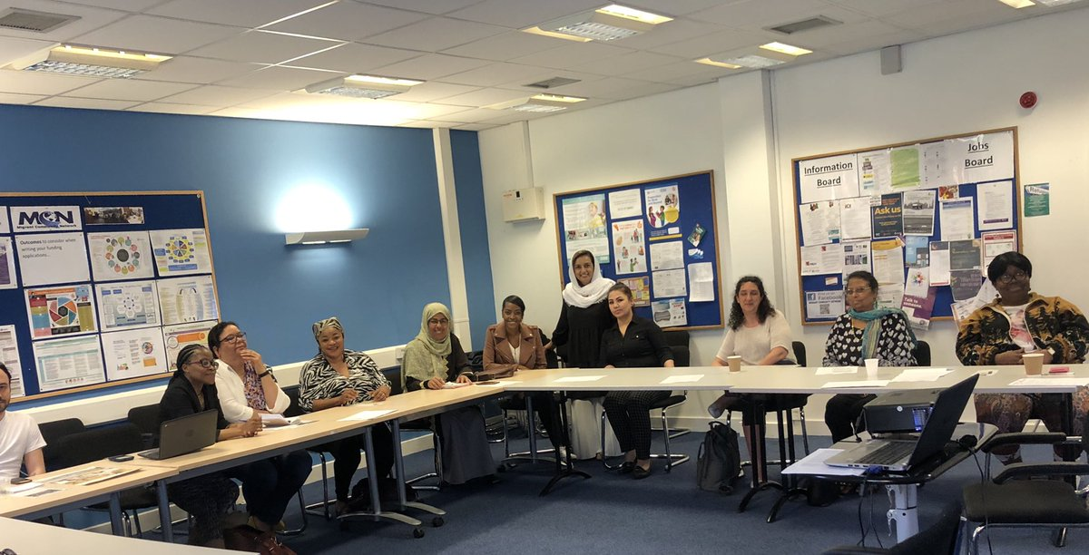 Always in awe at the bravery of the stories from the refugee and asylum seeker communities. Really great project leads at @LeedsMap today. It was great to deliver an information session on how to apply for our small grants fund https://www.near-neighbours.org.uk/small-grants @PriyaBhabra @SamipSami