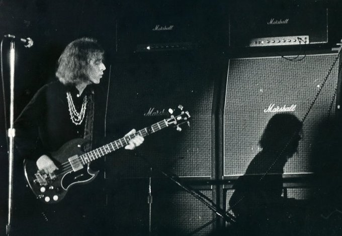 Happy Birthday god almighty Jack Bruce.