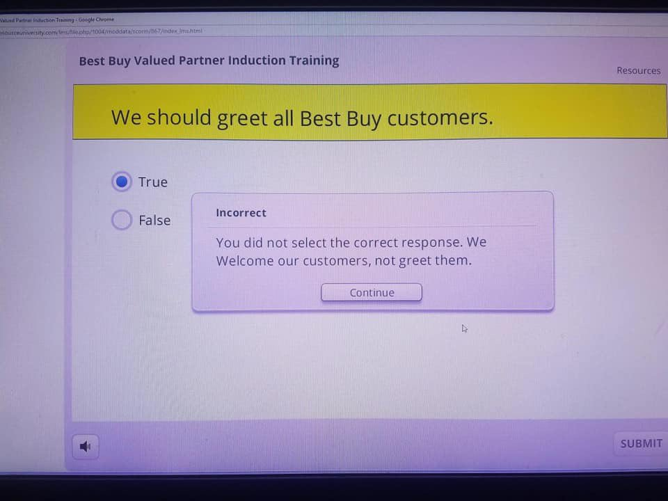 Viral Best Buy Training Question Is a Perfect Example of Clueless Corporate Policies