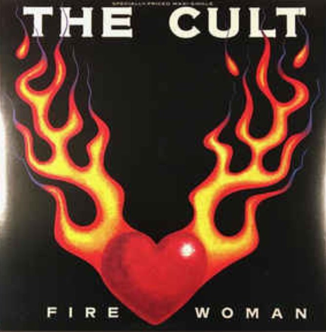 The Cult Fire Woman from the album Sonic Temple. Happy Birthday to Ian Astbury