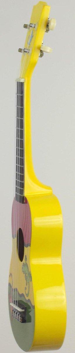 mainland lizard yellow plastic soprano Ukulele