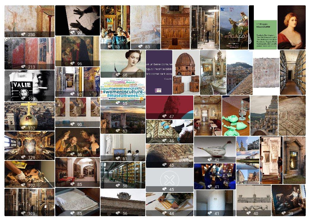 #MuseumWeek: i #SecretsMW hanno generato in totale oltre 16.9k contenuti, di cui 4.000 post in italiano 🇮🇹. Ecco i segreti svelati dai profili più attivi in Italia ⬇️ Vi aspettiamo domani per giocare con #PlayMW 🎲