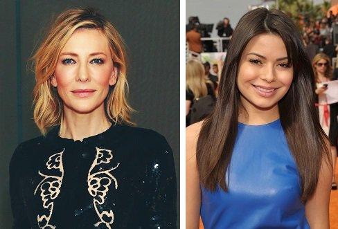 HAPPY BIRTHDAY !  Cate Blanchett  and  Miranda Cosgrove