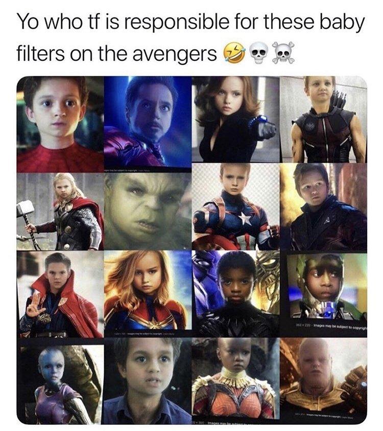 @9GAG @chrishemsworth Cuties 😍😍 #avengersendgame https://t.co/J0SPvE8jzx