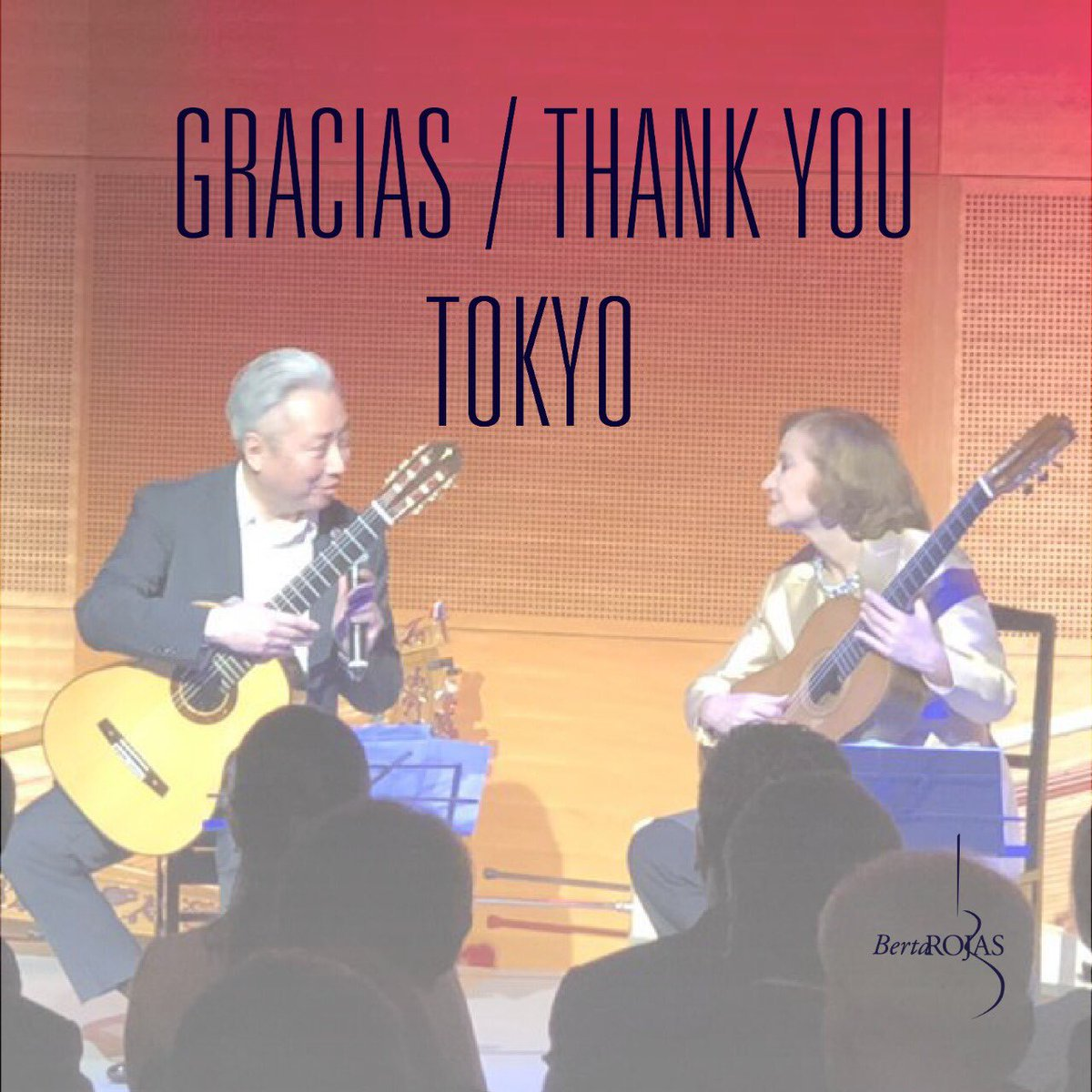 Happy Independence Day Paraguay! We celebrate you from across the world!  Special thanks to the Paraguayan Embassy in Japan, to Ambassador Raúl Florentin and Ambassador Naoyuki Toyotoshi. Thanks Min-On for hosting the event. Thanks Maestro Suin-Ichi Fukuda for playing tonight!