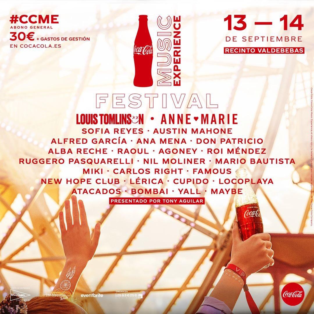 No te pierdas a @_ruggero y @AnaMenaMusic este 13-14 de Septiembre en el Coca-Cola Music Experience. 💥🎶 Boletos a la venta en: https://t.co/FBjlJxF66d