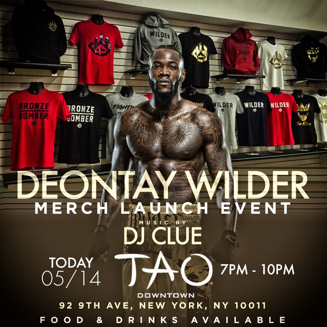 I appreciate all my fans and supporters that have supported me thus far. I just want to make everyone aware of the merchandise I've personally created. IT'S FINALLY HERE !!! I'm very proud of what I've created. I am going to show it for the first time tonight at TAO NY.