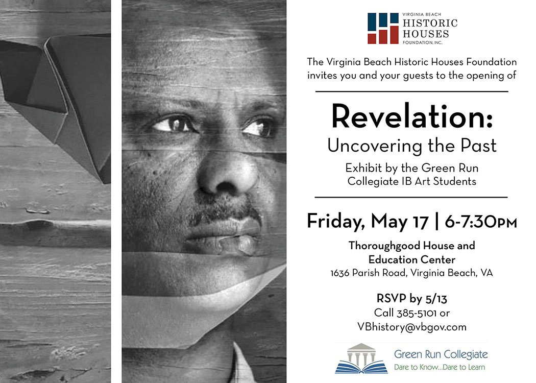 Whats it all about? Revelation exhibition invitation and text. @grcollegiate @grc_art @VBHistMuseums