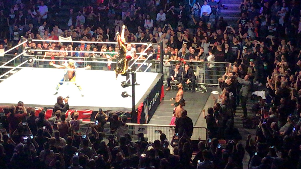 WWE Live Event Results From Paris (5/14): Big Six-Man, Seth Rollins Headlines, Becky Lynch, More