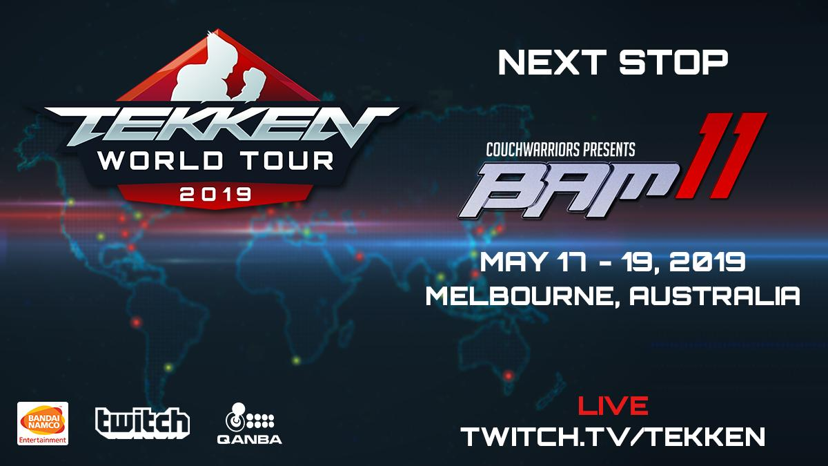 newest 0ebc6 f63e4 Catch this Master Event from May 17th - May 19th.  BAM11 will be streamed  live on http   twitch.tv TEKKEN pic.twitter.com dmsdI37XLr