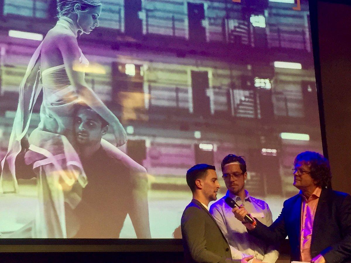 Dit zijn onze dansers Jurriën Schobben en Alberto Villanueva; zij kondigden zojuist het vervolg aan van hun film WE ARNHEM: chapter 2. Meer weten? Mail naar welkom@introdans.nl @Openluchtmuseum @MadeInArnhem026 @ahmedmarcouch