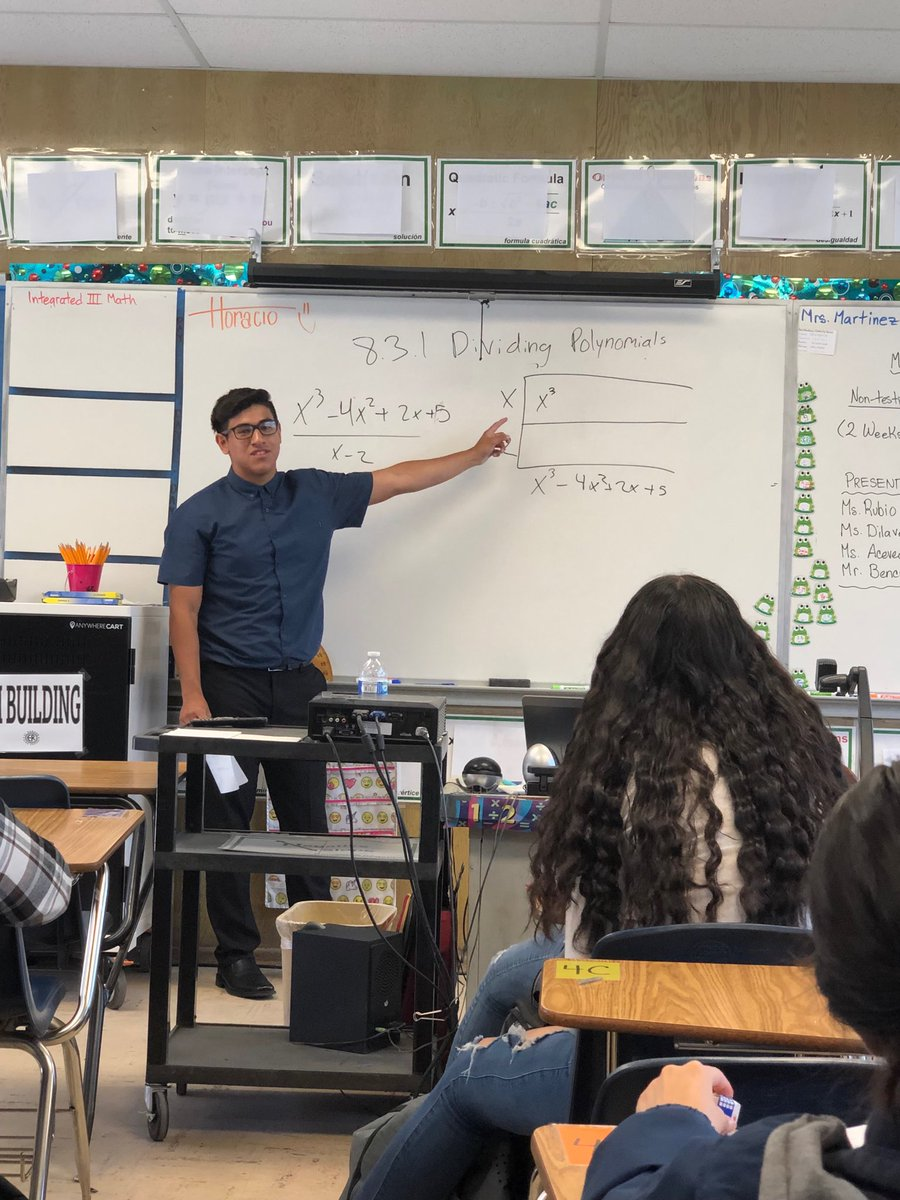 When students take over lessons for the final exam review! Great job Mr. Bencomo! @ElRanchoHS <br>http://pic.twitter.com/fdXX6FU04l