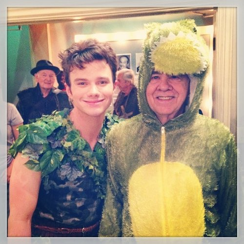 Chris Colfer's photo on #TimConway