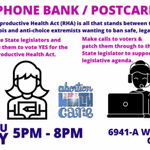 Image for the Tweet beginning: Phone Bank for the Reproductive