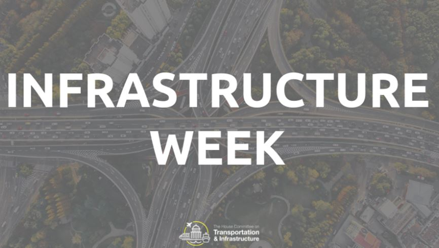 Happy #InfrastructureWeek 2019! I'm using this week to bring attention to what will happen if we don't act.  Inaction will cost the economy $4 trillion in GDP by 2025. Inaction will result in a loss of 2.5 million jobs. Inaction isn't an option.