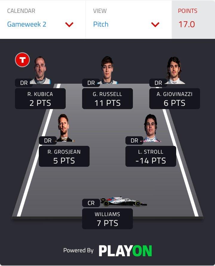 @F1 Not bad https://t.co/YtXBE4TFTH