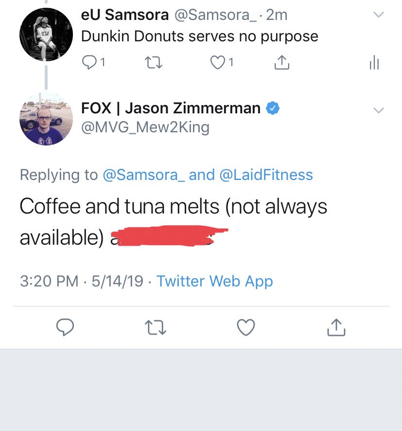 Jason Zimmerman On Twitter Coffee And Tuna Melts Not Always Available And Donuts Knoll king on the loose. twitter