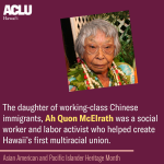 Image for the Tweet beginning: The daughter of working-class Chinese