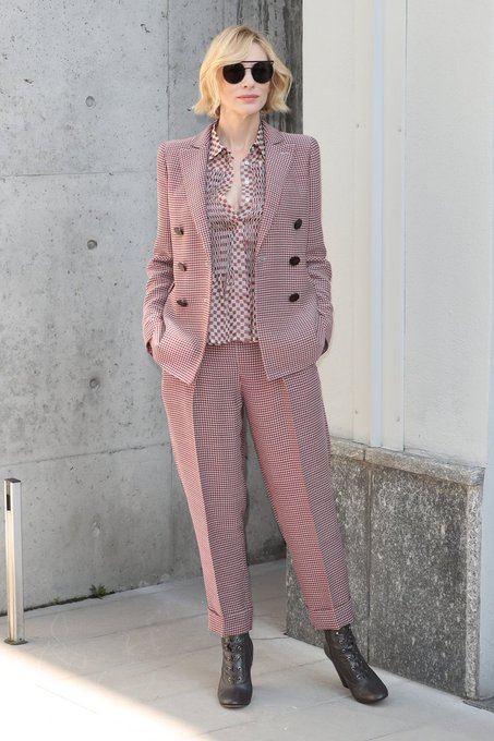 Happy Birthday Cate Blanchett May you have many years of fabulous pantsuits to come.