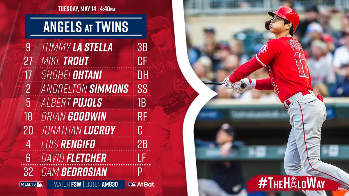 Tommy La Stella will lead off and @Cam_Bedrock is tonight&#39;s opener. First pitch at 4:40pm PT.   Game Preview »  https:// atmlb.com/2JBRZQp  &nbsp;  <br>http://pic.twitter.com/cgMlOhKQat