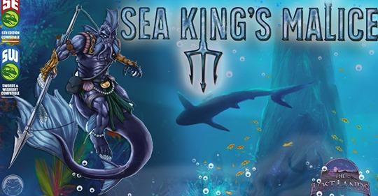 Sea King's Malice is live on Kickstarter! https://t.co/9z2NcK0XJj https://t.co/WwRtClc8fT