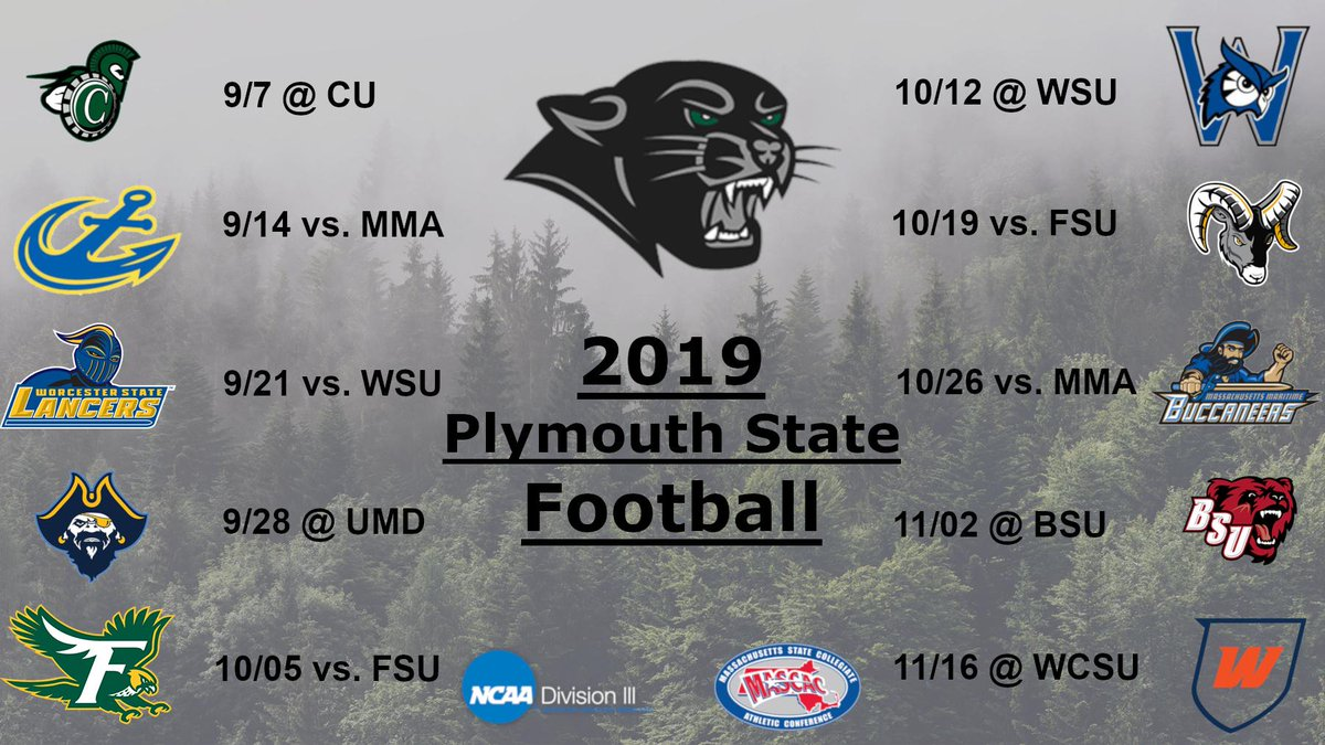 Plymouth State Fb At Psupanthersfb Twitter