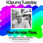Image for the Tweet beginning: Honoring kūpuna to every Tuesday!