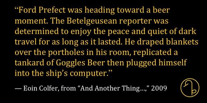 Happy Birthday Irish author Eoin Colfer (May 14, 1965- )