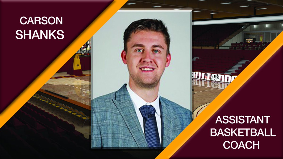 Carson Shanks Named New @UMDBulldogMBB Assistant Head Coach. Details: http://bit.ly/2Hkq4Tv