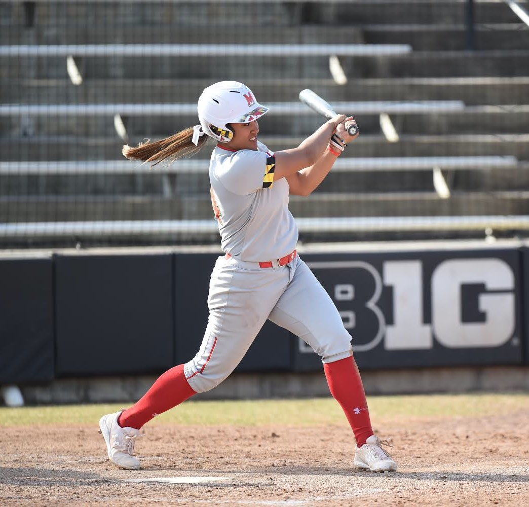 Team leader in:   Home runs (7)  Doubles (11)  SLG% (.521)  Sammie Stefan is your 2019 Maryland softball offensive player of the year <br>http://pic.twitter.com/aszN4yQRFZ