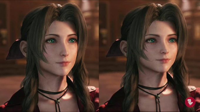 FF7 Remake: Japanese controversy regarding new Aerith design | NeoGAF