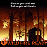 Image for the Tweet beginning: Create defensible space and protect