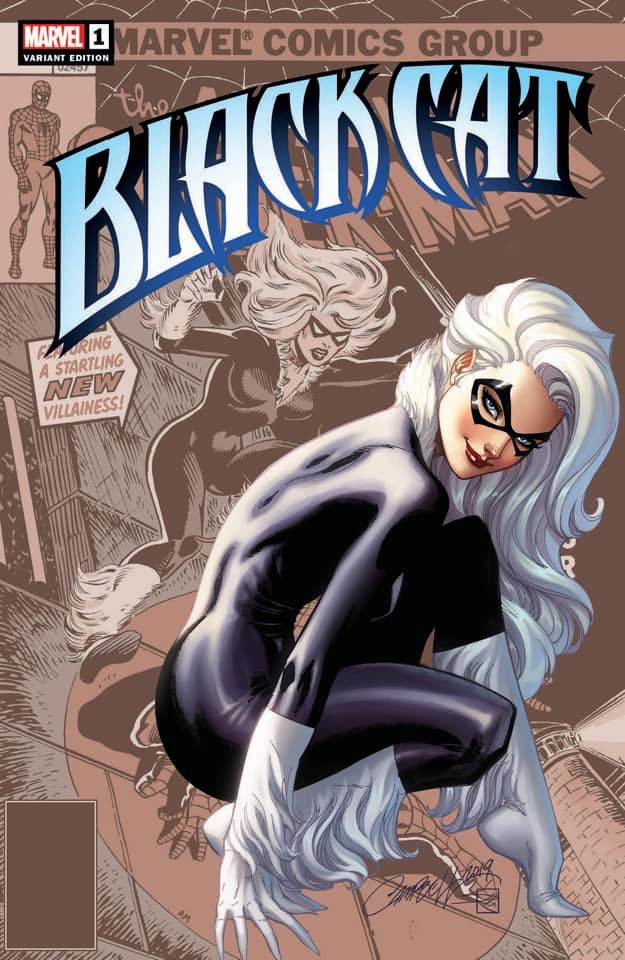 BLACK CAT #1 J Scott Campbell COVER A   2019