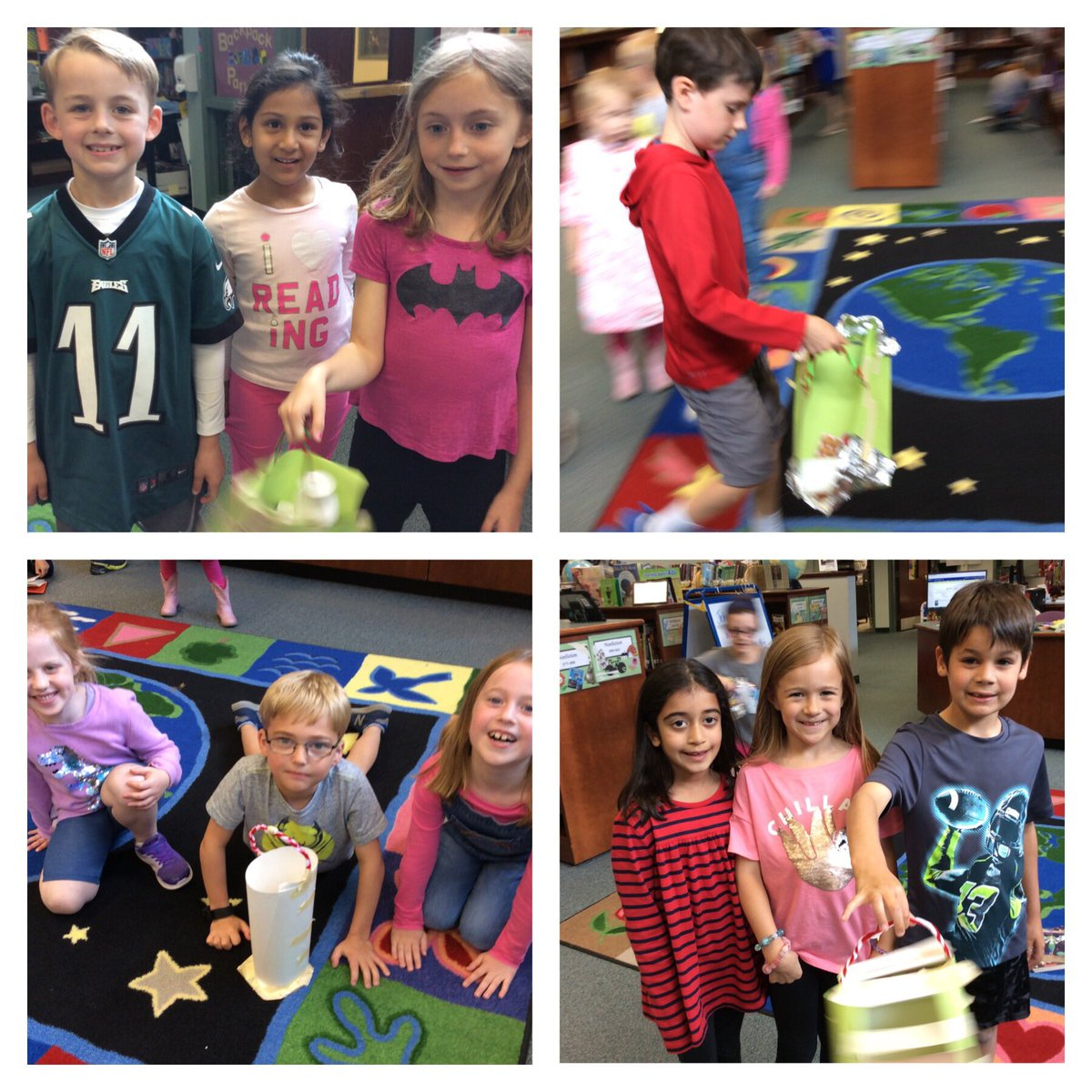 Today, we tested out the baskets we made for Little Red to take to Grandma's house. They worked beautifully! Great job by the Jolly Rogers and <a target='_blank' href='http://twitter.com/whitleystarfish'>@whitleystarfish</a> <a target='_blank' href='http://search.twitter.com/search?q=designthinking'><a target='_blank' href='https://twitter.com/hashtag/designthinking?src=hash'>#designthinking</a></a> <a target='_blank' href='http://twitter.com/APS_STEM'>@APS_STEM</a> <a target='_blank' href='http://twitter.com/NTMKnightsAPS'>@NTMKnightsAPS</a> <a target='_blank' href='http://twitter.com/NottinghamPTA'>@NottinghamPTA</a> <a target='_blank' href='http://twitter.com/APSLibrarians'>@APSLibrarians</a> <a target='_blank' href='https://t.co/O2KDqMdDNn'>https://t.co/O2KDqMdDNn</a>