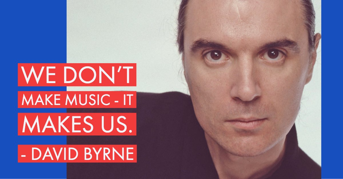 Happy Birthday to the Talking Heads frontman David Byrne!