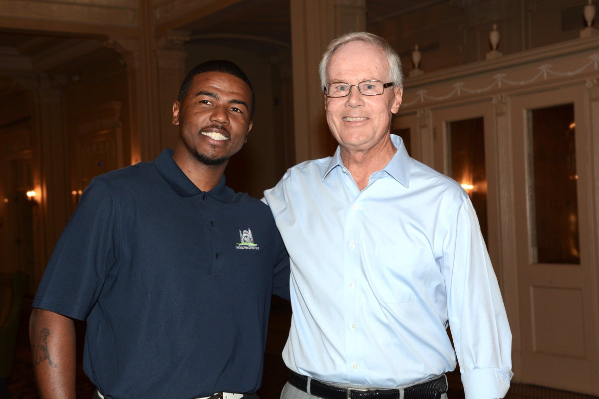 I first met Dion Madkins during @ChiGolfAlliance Town Hall; Monday April 10, 2017 at South Shore Cultural Center. It was obvious hed do big things for kids & the game of golf, but I never couldve imagined the power of his story on @GolfChannel tonight! golfchannel.com/video/2019-pga…
